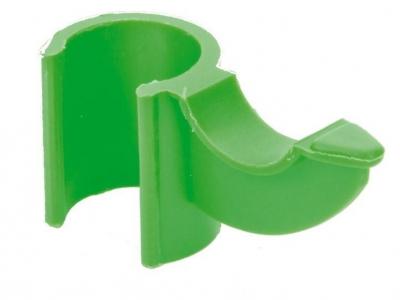 Bevestigingsclip stok groen