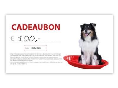 Cadeaubon - € 100