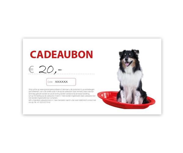 Cadeaubon - € 20