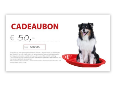 Cadeaubon - € 50